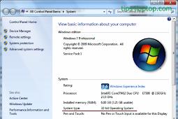 Perbedaan Kelebihan Kekurangan Windows 32-bit dan 64-bit