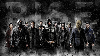The Dark Knight Rises All Characters HD Wallpaper