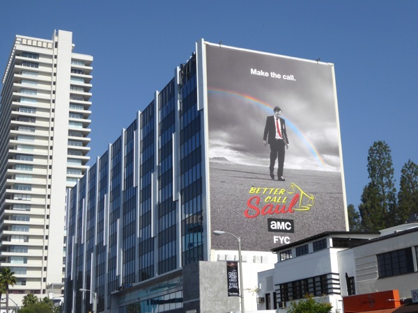 Giant Better Call Saul Emmy 2016 FYC billboard