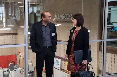 Lisa Freeman and Sagar Patel