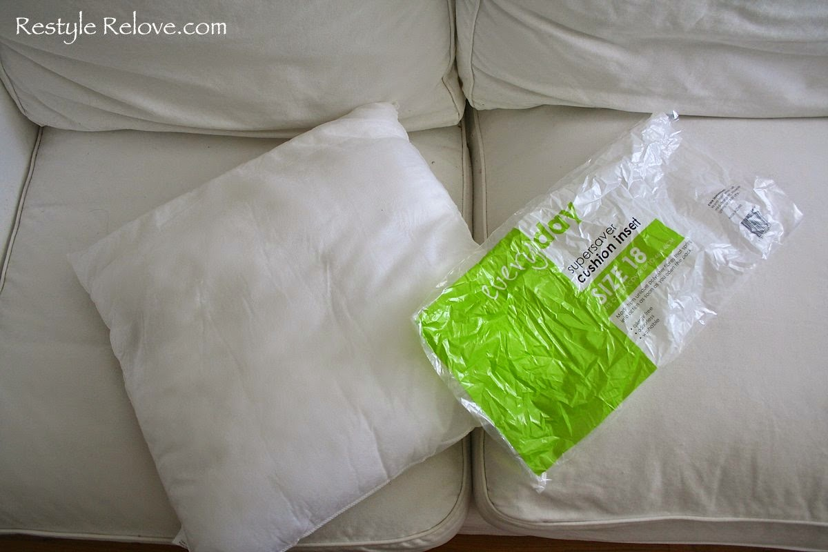 refilling sofa cushions mini sofas para ninos stuffing for sunny simple life how to refill