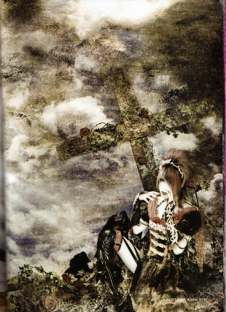 Ali Kei: Roses and Crosses in the Visual Kei Scene    Rosicrucianism!