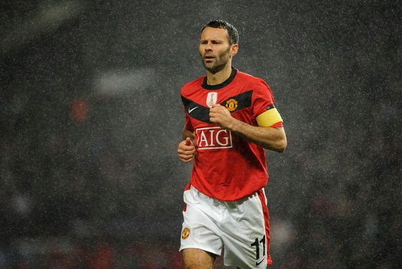 Ryan Giggs has played in all 11 of Manchester United's Premier League title-winning teams