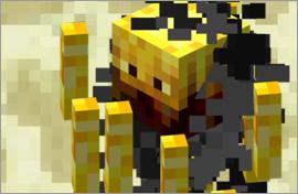 Minecraft Blaze Figures
