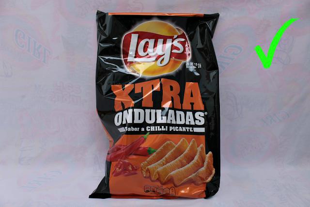 Patatas Lay's Xtra de sabor a Chilli picante