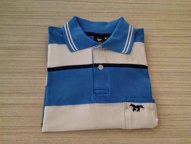 13421bcf39 A camiseta pólo é uma das peças mais versáteis e coringas do guarda-roupa  masculino. Ela serve para montar as mais variadas combinações