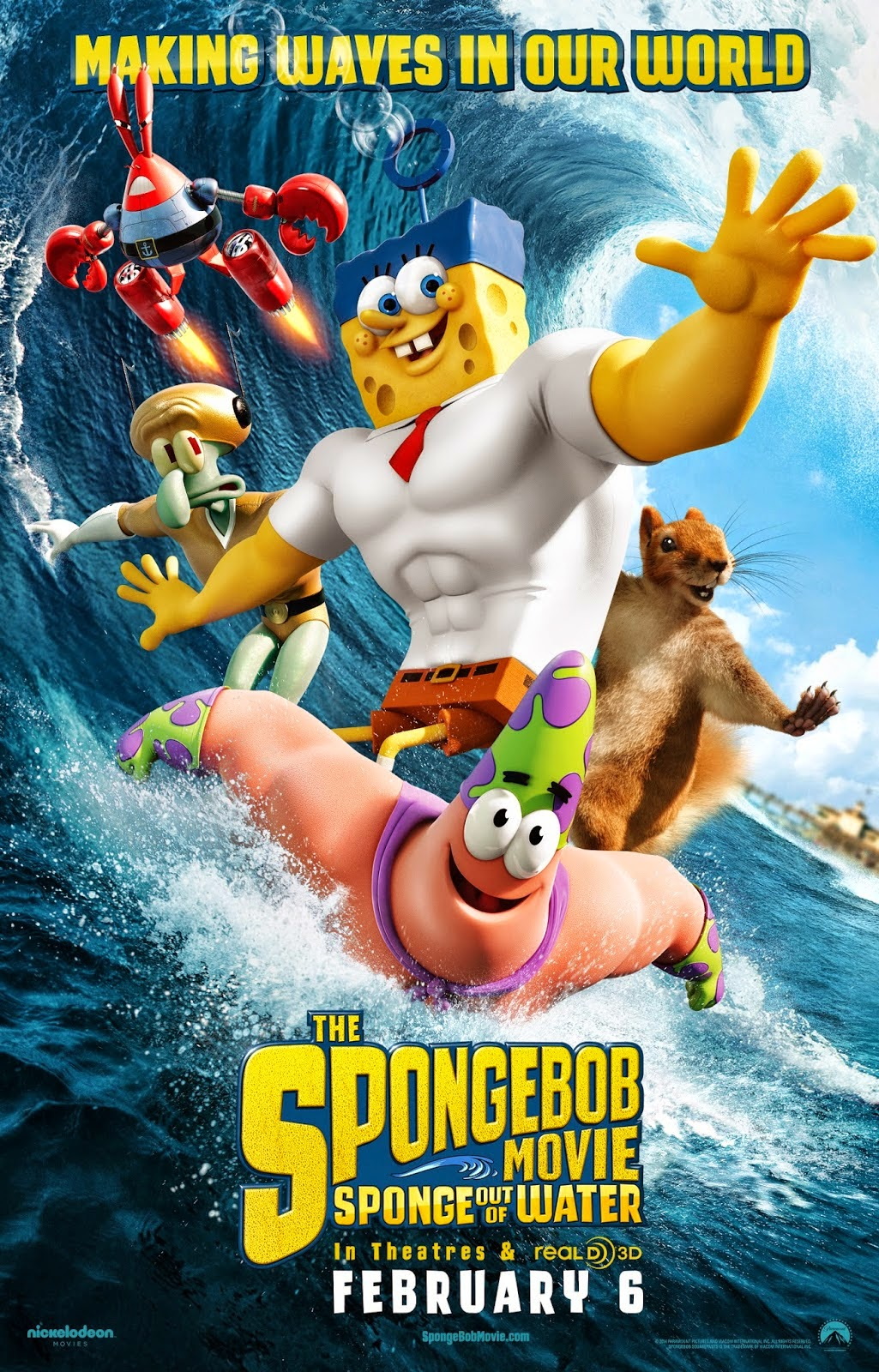 Giveaway Win The Spongebob Movie Sponge Out Of Water Prize Pack Sandwichjohnfilms