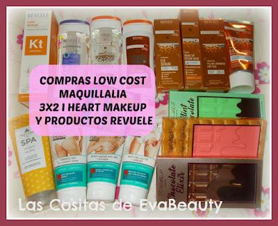 Compras Low Cost Maquillalia (3x2 I Heart Makeup y productos Revuele)