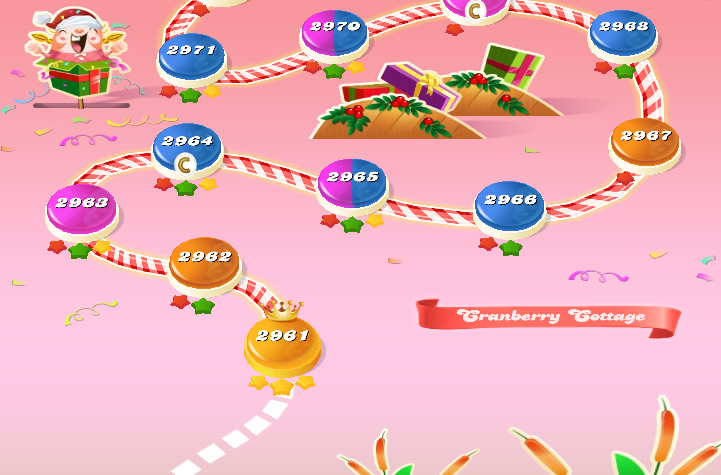 Candy Crush Saga level 2961-2975