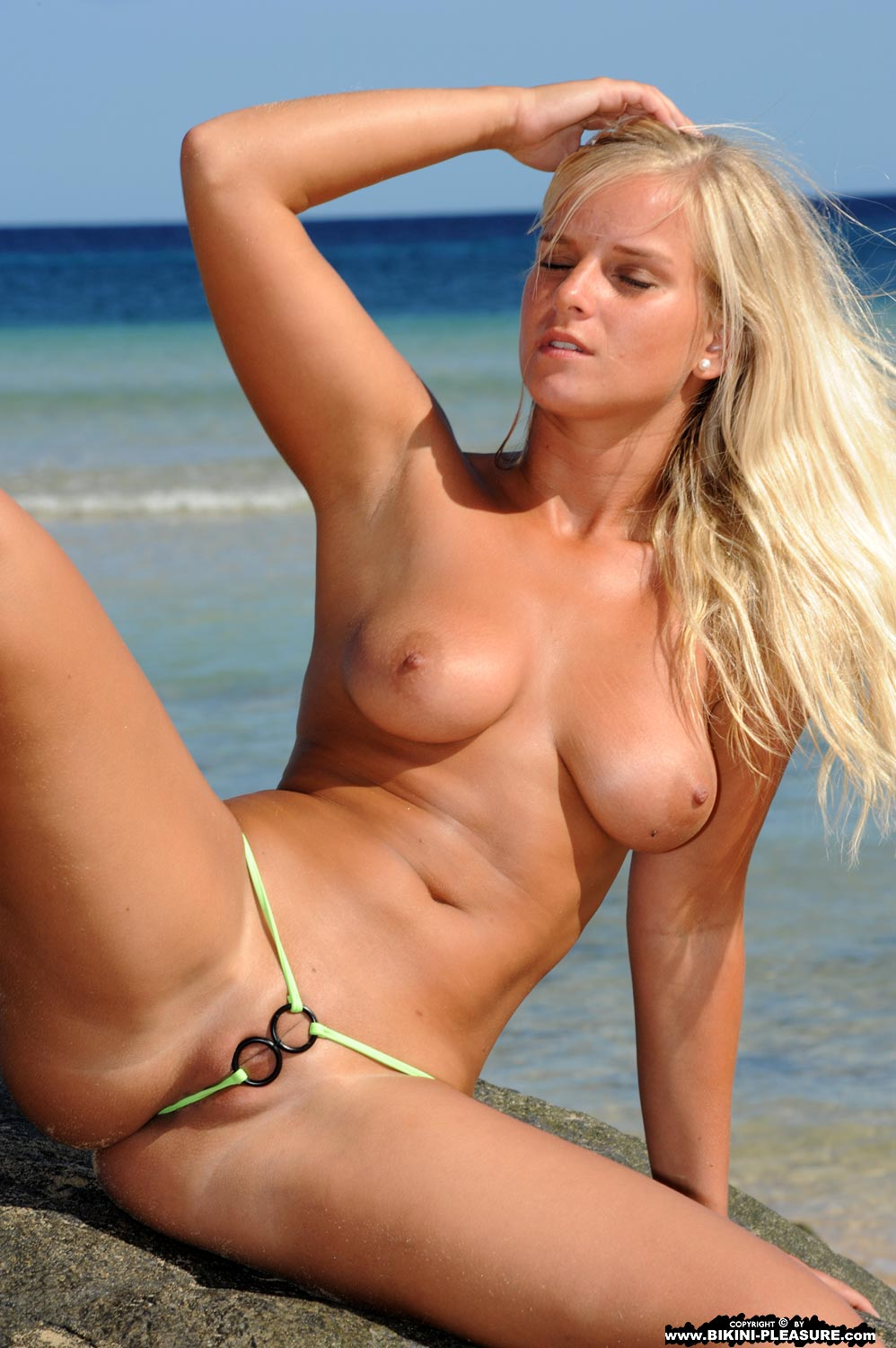 Consider, model thong topless really. join