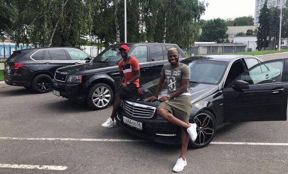 Footballer, Sylvester Igboun Buys Benz C Class To Begin New Russian Season (Pictures)