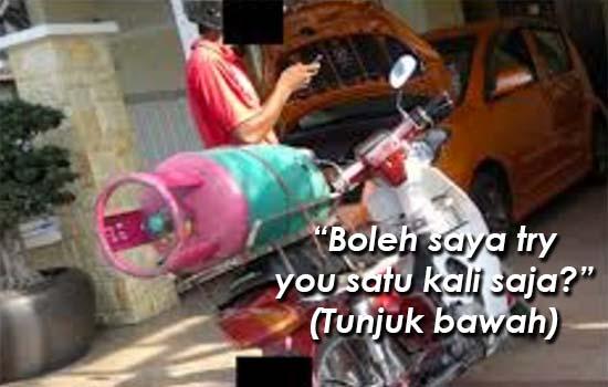 Kisah benar pengirim gas warga Bangladesh nak main dengan wanita berjubah