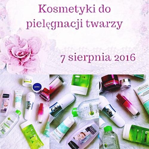 # 121 OPRÓŻNIAMY NASZE KOSMETYCZKI - PIELĘGNACJA TWARZY cz.1