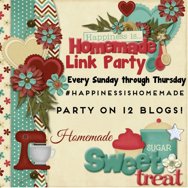 Happiness is Homemade Link Party!