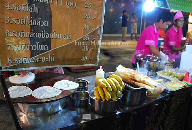 Roti Canai in Krabi