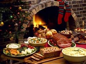 Christmas Dinner Menu.Slice Of Southern Christmas Dinner Menu