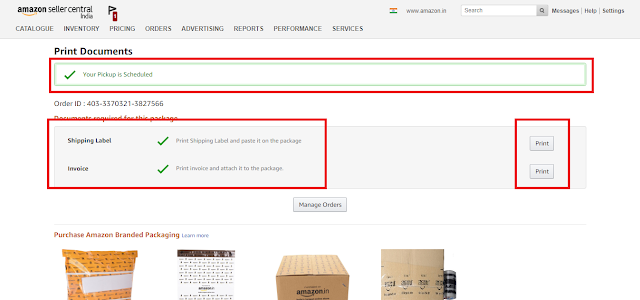 How to Process Order on Amazon