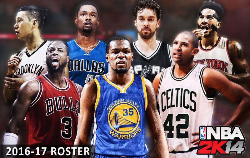 NBA 2K14 Roster – 2017 NBA All-Star Weekend Update - NBA2K.ORG