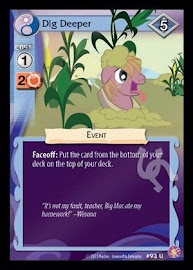 My Little Pony Dig Deeper Absolute Discord CCG Card