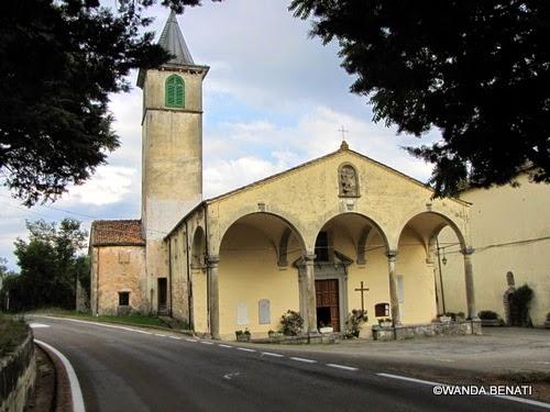 Capugnano: la chiesa di San Michele Arcangelo