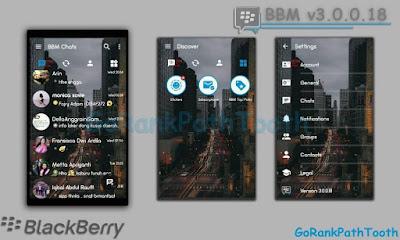 BBM Transparan Mod Versi 3.0.0.18 Update GoRankPathTooth