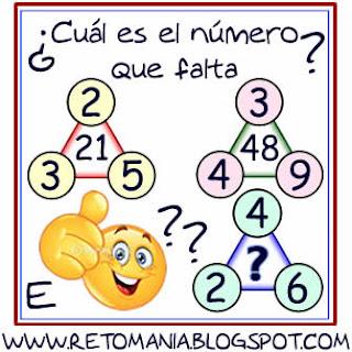 Retos matemáticos, Desafíos matemáticos, Problemas matemáticos, Problemas de lógica, Problemas para pensar, Piensa rápido, Sólo para genios