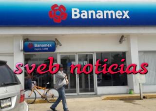 """Asaltan sucursal """"Banamex"""" este Lunes en Coatzacoalcos Veracruz"""