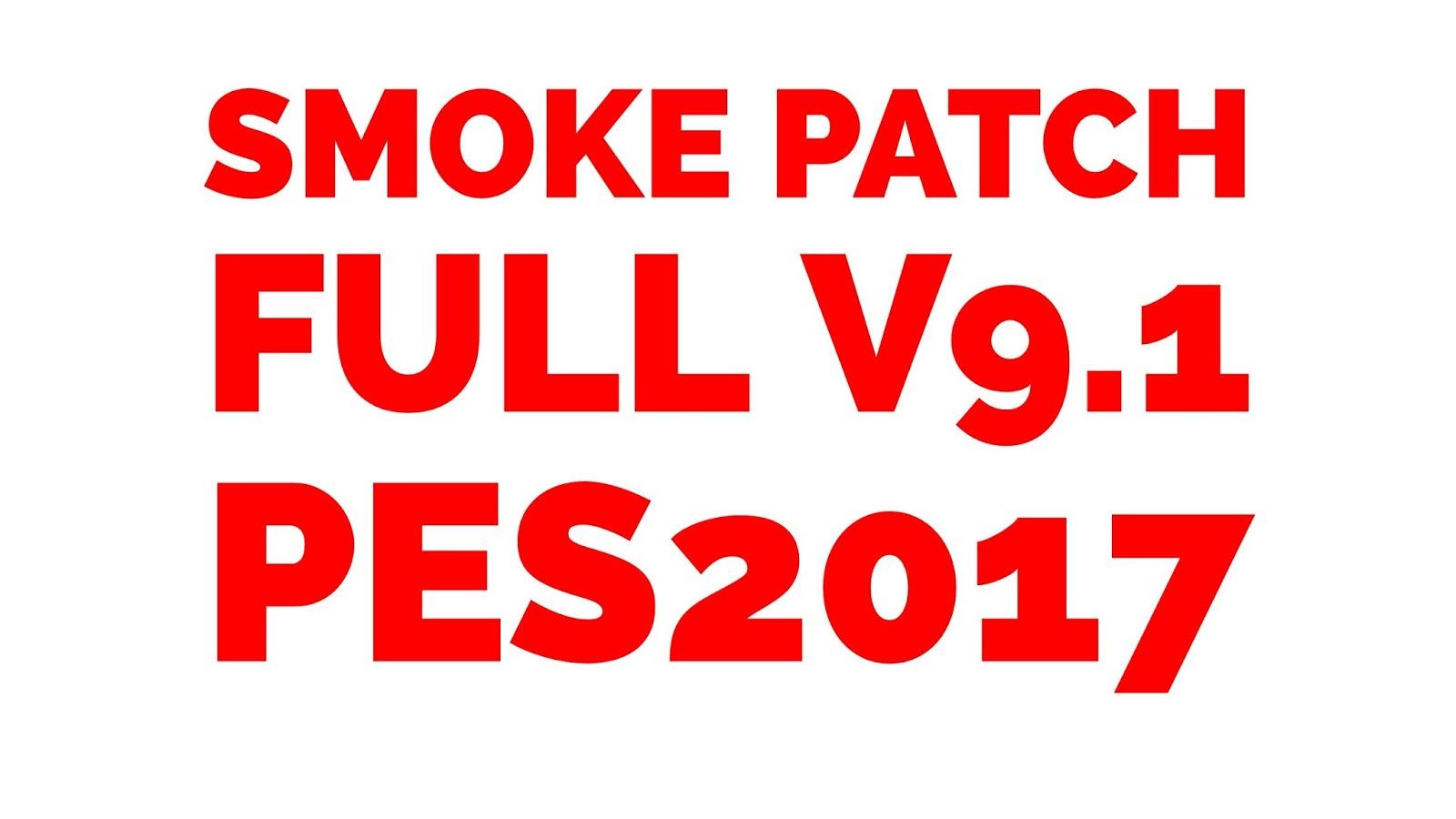 pes 2017 pc smoke patch 9.1