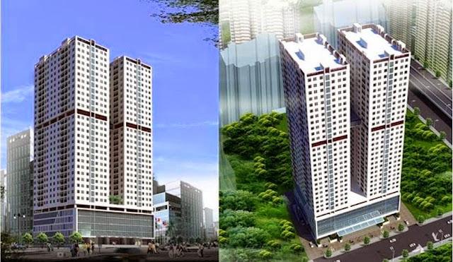 Phối cảnh chung cư Duy Tân Tower