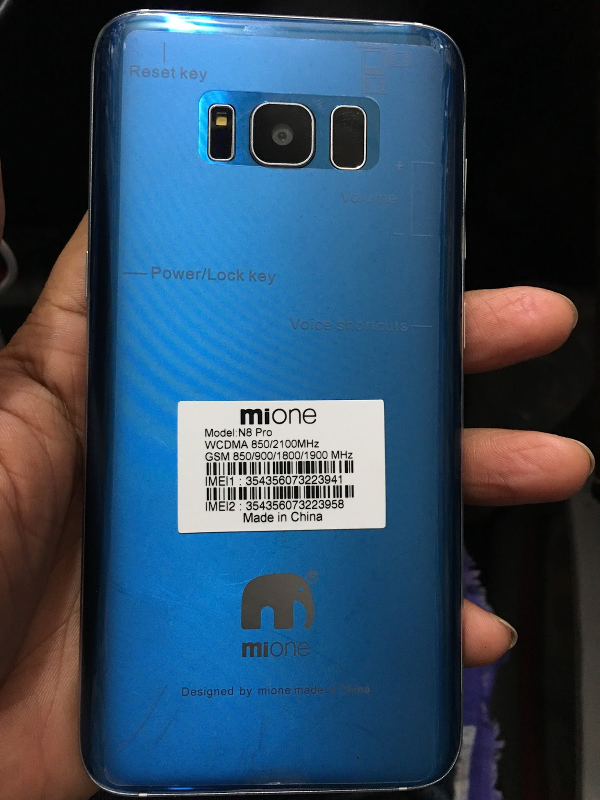 Mione N8 Firmware