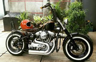 Lapak Kustom Chooper Sportster XL1200 Dijual - JAKARTA