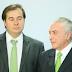 Rodrigo Maia (DEM-RJ) afirma que a denuncia contra Michel Temer é grave e deve paralisar a casa