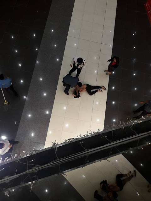 Unidentified Man Jumps From The 3rd Floor Of SM Bacolod!