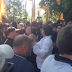 Cheated bank depositors clash with police in front of Poroshenko's office building