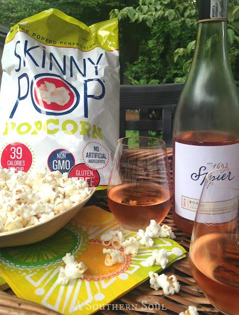 Skinny POP & Wine parings