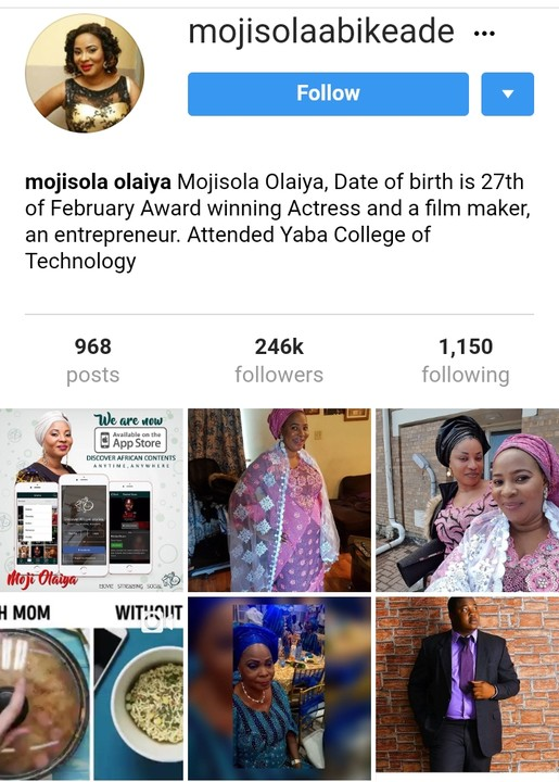 Moji Olaiya's Last Post On Instagram Before Her Death (Photos)2