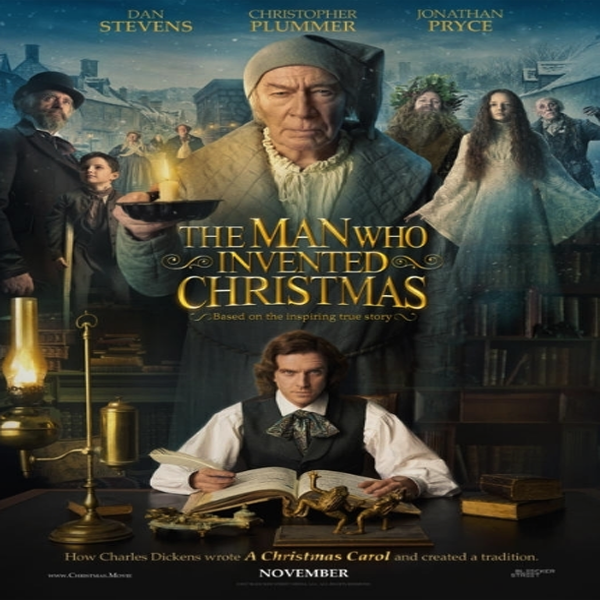 Download Film The Man Who Invented Christmas (2017) Bluray Subtitle Indonesia