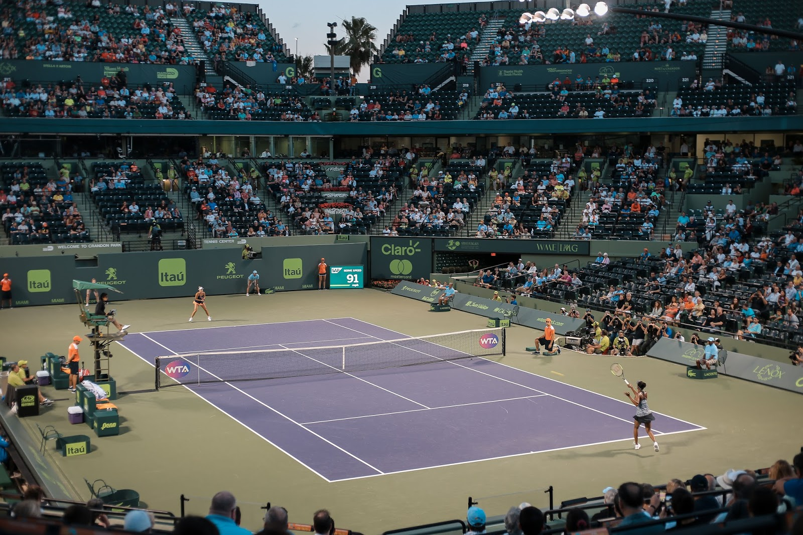 Miami Open Tennis Match