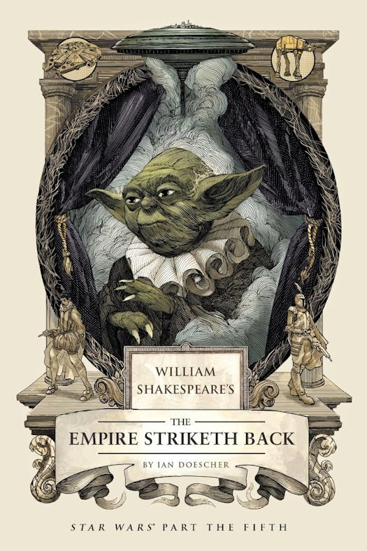 80c2adf702 The saga that began with the interstellar best seller William Shakespeare's Star  Wars continues with this merry reimagining of George Lucas's enduring ...