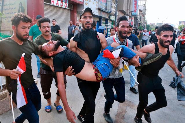 Pengunjuk Rasa Tewas di Irak Tembus 190 Orang