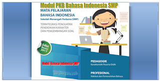 Download Modul PKB Bahasa Indonesia SMP Revisi 2018
