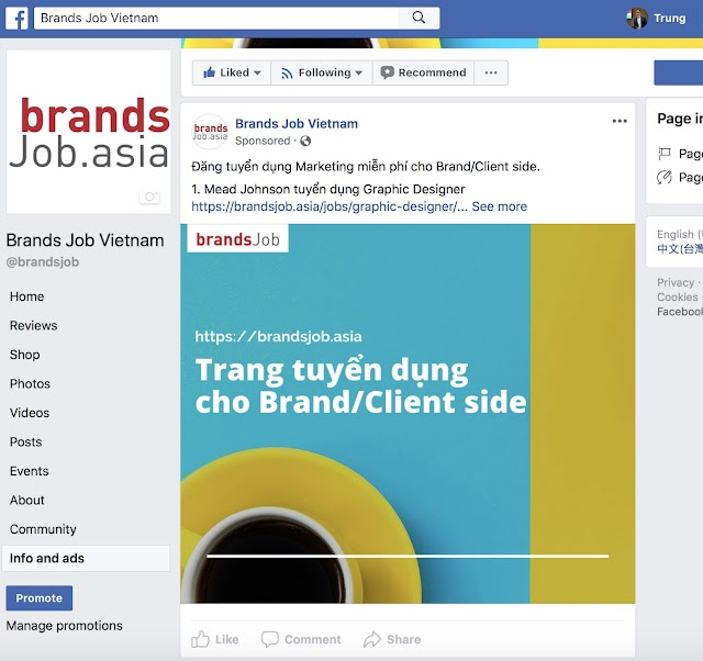 Tính năng mới của Facebook: Xem toàn bộ Quảng cáo đang chạy trên Page đối thủ