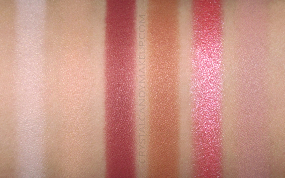Palette de pigments Totally Soph Makeup Revolution Swatches
