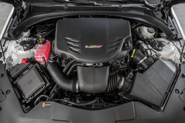 2016 CADILLAC ATS-V COUPE Engine
