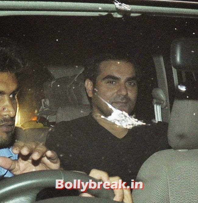 Arbaaz Khan, Celebs at Heropanti Special Screening
