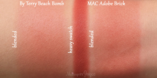 Mac Adobe Brick Powder Blush Swatches