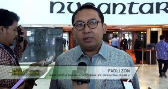 Fadli Zon: Ratusan KPPS Meninggal Memunculkan Spekulasi Disantet