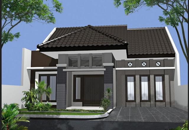 60 Desain Rumah Minimalis Modern 1 Lantai Type 45 Terbaru Berbagai