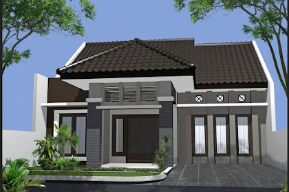 60 Desain Rumah Minimalis Modern 1 Lantai Type 45 Terbaru Berbagai Model