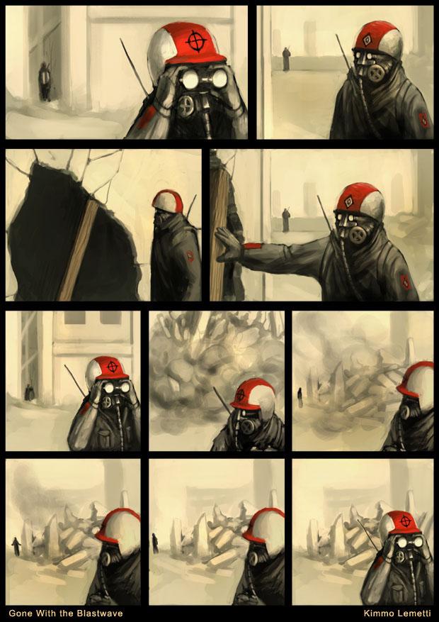 (隨爆而逝)系列漫畫 第 1 頁 :: 搞笑圖片 :: 琮王的魔界事務所 :: 遊戲基地 gamebase